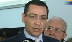 Ponta: Nu are rost sa-l invat pe Basescu cum e cu somajul. Domnule Voinea, poate ii predati un curs