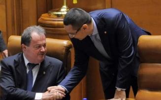 Ponta: Nu coabitez cu chelnerii lui Basescu, Blaga si Ungureanu