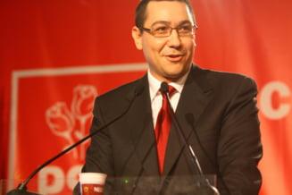 Ponta: Nu cred ca presedintele si premierul trebuie sa faca un concurs de barbatie