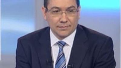 Ponta: Nu l-am reevaluat pe Basescu, dar realizez ca acum marea provocare nu mai e el