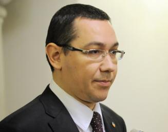 Ponta: Nu-l voi regreta pe Basescu. Pe 21 decembrie vom striga 'Iesi afara, fiinta extraordinara!'