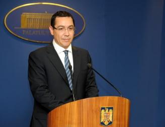 Ponta: Nu mai fac nicio declaratie despre plagiat