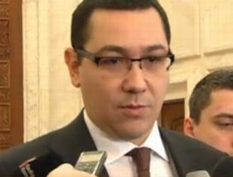 Ponta: Nu participam la investirea Guvernului Ungureanu
