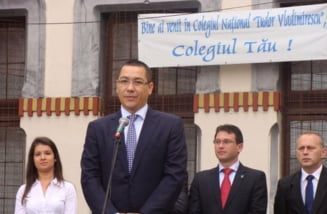Ponta: Nu stiu daca mai e vreun copil, chiar si de clasa I, care sa nu aiba telefon cu Internet