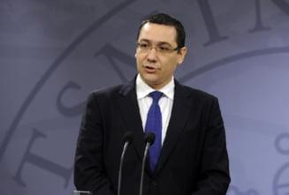 Ponta: Nu trebuie sa ne rugam de cineva pentru aderarea la Schengen