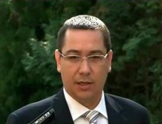 Ponta: Nu vom organiza un alt referendum, lucrurile sunt foarte clare