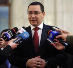 Ponta: Orice gaga stie ca Tariceanu nu e seful Senatului