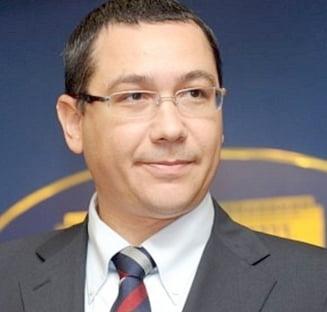 Ponta: Orice om de afaceri roman care nu se inscrie in Miscarea Populara primeste un dosar penal
