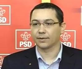 Ponta: PSD se va implica pe fata in protestele de strada
