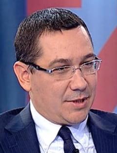 Ponta: Papici a fost parasutat de la Timisoara pentru a executa ordine, era un fel de paria