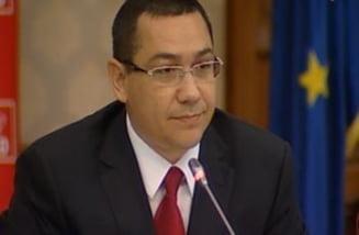 Ponta: Pe drum spre aeroport, il sun pe presedinte si stabilim o intalnire