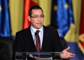 Ponta: Presedintele ar trebui sa-si termine mandatul fara a ne mai da lectii