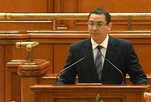 Ponta: Presedintele sau premierul nu pot discuta tratate care afecteaza suveranitatea