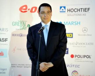 Ponta: Prezenta directorului FMI la Bucuresti nu are legatura cu noul acord, dar e un mesaj clar