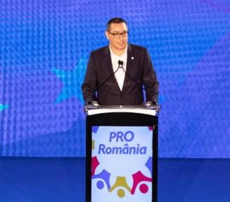 Ponta: Pro Romania NU va participa la jocurile de santaj intre PNL si USR arbitrate de Basescu Petrov UPDATE Replica USR