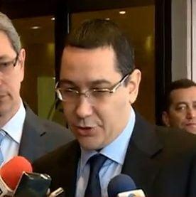 Ponta: Procurorii nu sunt numiti pe consultari politice. Discut cu Antonescu, dar nu sunt dezbateri (Video)