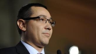 Ponta: Recesiunea tehnica si estimarile in scadere ale FMI, campanie electorala a presei