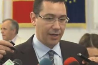 Ponta: Retrimiterea in Parlament a Legii energiei de catre Basescu, act de sabotaj (Video)