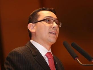Ponta: Rolul unui PD-L condus de Udrea este la DNA