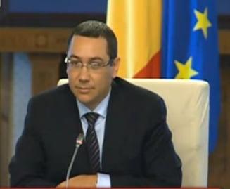 Ponta: Romania a fost mioapa pana acum, nu s-a uitat la alte tari (Video)