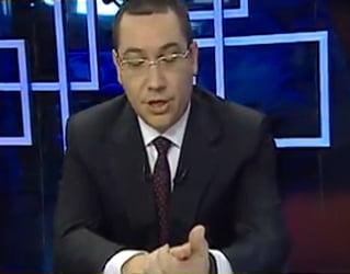 Ponta: Ruperea USL, la fel ca discutia lui Hitler din buncarul de la Berlin