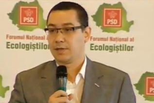 Ponta: Sper sa nu trebuiasca sa ne ducem copiii in alta tara, in parc (Video)
