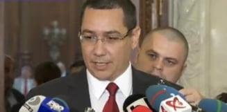 Ponta: Sper sa rezist pana la capatul intalnirii cu Traian Basescu
