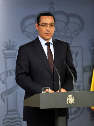 Ponta: Stiu ce ministri ii plac lui Basescu. Nu avem aceleasi gusturi