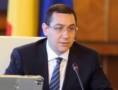 Ponta: Sunt prosti cei care le-au spus pomeni electorale masurilor de dreptate sociala