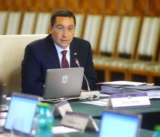 Ponta: Sunt ticaloase atacurile la adresa oricarui posibil comisar european (Video)