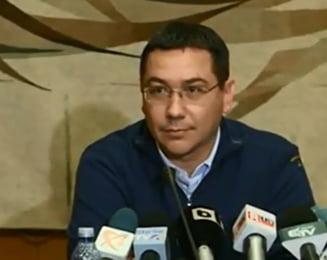 Ponta: Sunt trist, imi pare rau. Sunt hotarat sa raman in functie