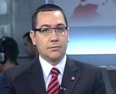 Ponta: TVR face presa pentru Udrea si Boc