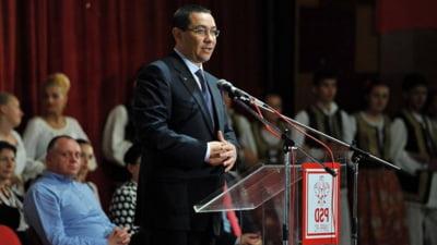 Ponta: Tariceanu e un adevarat liberal. Antonescu e om de stanga, a lucrat totdeauna la stat (Video)