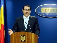 Ponta: Toti ministrii sa aiba pregatit bugetul pe 7 ianuarie