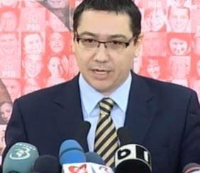 Ponta: USL intrerupe greva pentru Tratatul fiscal, nu pentru Basescu