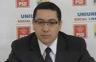 Ponta: USL nu voteaza nicio modificare a legii electorale