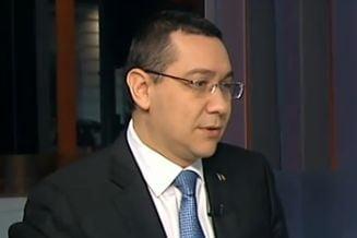 Ponta: Valcov e o pierdere pentru Guvern. Am trei propuneri pentru Finante, sper sa gasesc un kamikaze