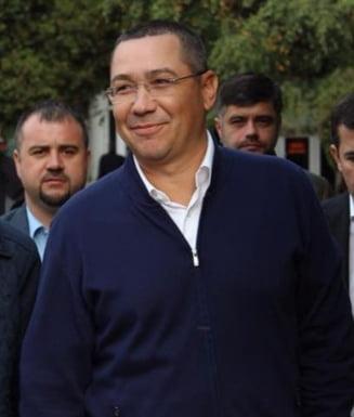 Ponta: Valcov si Shhaideh lucreaza la proiectul de buget. Este anormal, ei nu sunt in Guvern