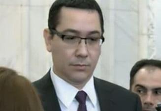 Ponta: Vin cu o echipa de ministri tineri, nu au cum sa intre sub incidenta Legii Lustratiei