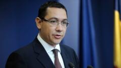 Ponta: Voi lua act de demisiile colegilor liberali, dar nu voi cere demisia vreunuia