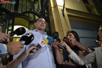Ponta: Voi propune celor de la PSD sa mergem cu o formula acceptabila de premier catre presedinte