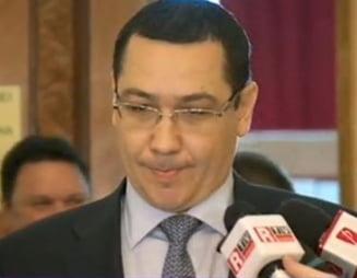 Ponta: Vom avea alegeri parlamentare si locale partiale, odata cu alegerile europarlamentare