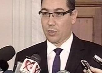 Ponta: Vom cere sanctionarea Guvernului in Parlamentul Europei