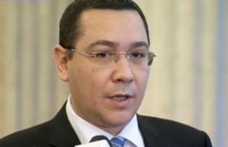 Ponta: Vom vota pentru ridicarea imunitatilor. Dorim modernizarea legii sigurantei nationale