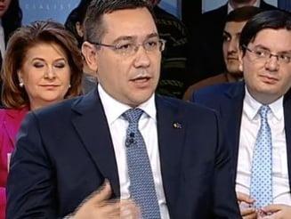 Ponta: Vreau sa fiu presedintele celor foarte multi care urmaresc Antena 3