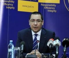 Ponta, a treia oara in fata CSM - De data asta cu interventiile in ancheta de la liceul Bolintineanu