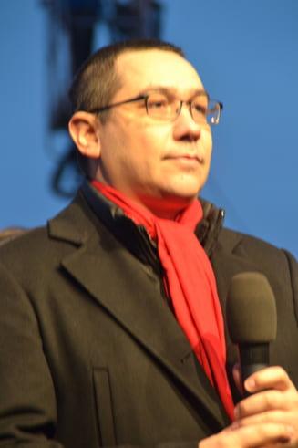 Ponta, apel la calm pe Facebook: Cei care au fost la mitingul USL sa evite orice provocare