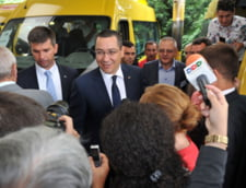 "Ponta, apostrofat la Tulcea: ""PSD, cel mai hot partid"" - Cum s-a aparat"