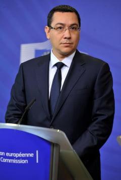 Ponta, atac dur la Antonescu: Si-a mintit colegii