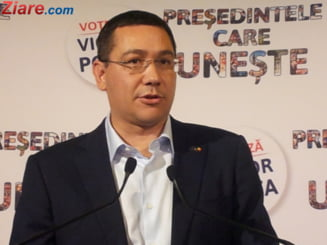 Ponta, atac la Vanghelie si R. Negoita: Trebuie sa avem decenta si intelepciunea sa tacem o perioada